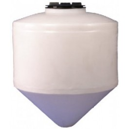 250 Gallon Cone Bottom Tank with Stand