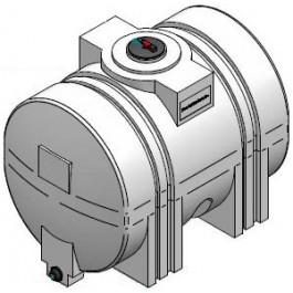 550 Gallon Heavy Duty Horizontal Leg Tank w/Sump