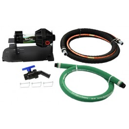 N-Serve Easy Caddy IBC Tote Tank 110V Dura-Pump Kit with 12' & 5' XLPE Hoses