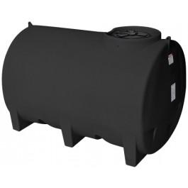 1100 Gallon Black Horizontal Leg Tank