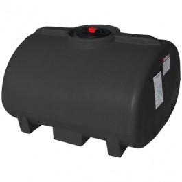 100 Gallon Black Horizontal Leg Tank