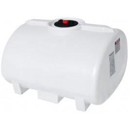 150 Gallon White Horizontal Leg Tank