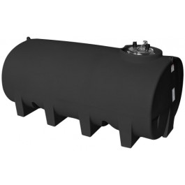 1600 Gallon Black Horizontal Leg Tank