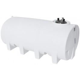 1600 Gallon White Horizontal Leg Tank
