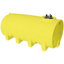 1600 Gallon Yellow Horizontal Leg Tank