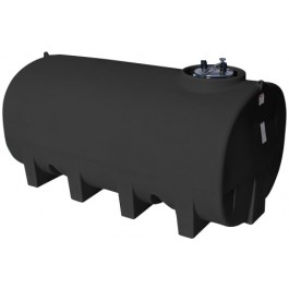 1900 Gallon Black Horizontal Leg Tank