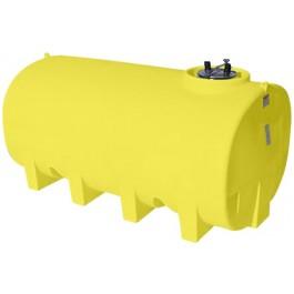 1900 Gallon Yellow Horizontal Leg Tank