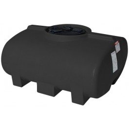 200 Gallon Black Horizontal Leg Tank
