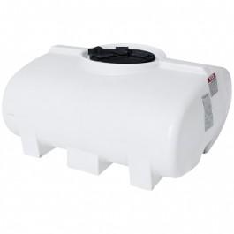 200 Gallon White Horizontal Leg Tank