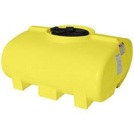 200 Gallon Yellow Horizontal Leg Tank