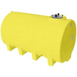2200 Gallon Yellow Horizontal Leg Tank
