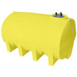 2500 Gallon Yellow Horizontal Leg Tank