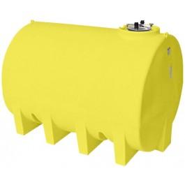 3000 Gallon Yellow Horizontal Leg Tank