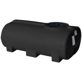 300 Gallon Black Horizontal Leg Tank
