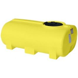 300 Gallon Yellow Horizontal Leg Tank