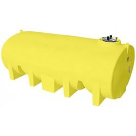 3500 Gallon Yellow Horizontal Leg Tank