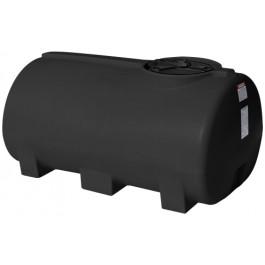 400 Gallon Black Horizontal Leg Tank