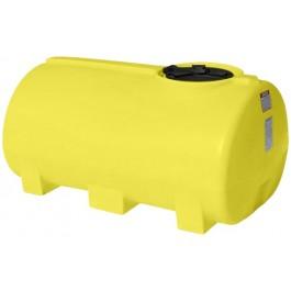 400 Gallon Yellow Horizontal Leg Tank