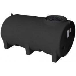 800 Gallon Black Horizontal Leg Tank
