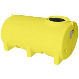 800 Gallon Yellow Horizontal Leg Tank