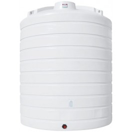 10000 Gallon White Vertical Storage Tank