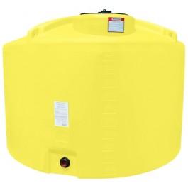 1000 Gallon Yellow Vertical Storage Tank