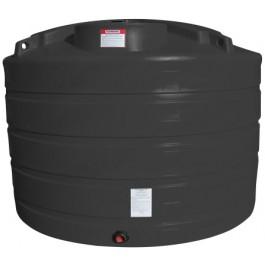 1350 Gallon Black Vertical Storage Tank