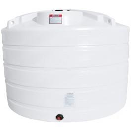 1350 Gallon White Vertical Storage Tank