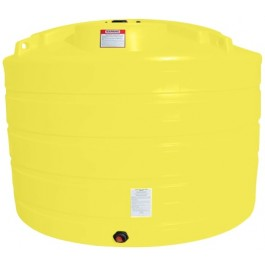 1350 Gallon Yellow Vertical Storage Tank
