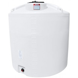 1400 Gallon White Vertical Storage Tank