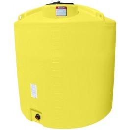 1400 Gallon Yellow Vertical Storage Tank