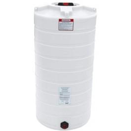 150 Gallon White Vertical Storage Tank