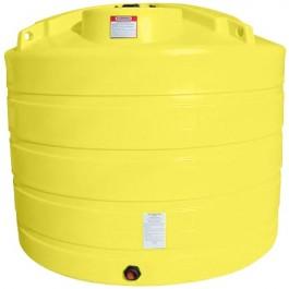 1650 Gallon Yellow Vertical Storage Tank