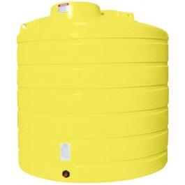 2000 Gallon Yellow Vertical Storage Tank