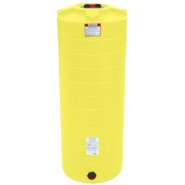 200 Gallon Yellow Vertical Storage Tank