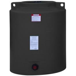 210 Gallon Black Vertical Storage Tank
