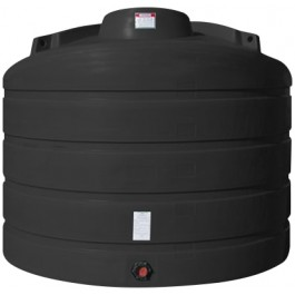2520 Gallon Black Vertical Storage Tank