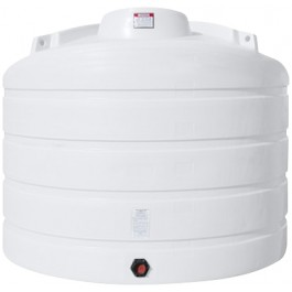 2520 Gallon White Vertical Storage Tank