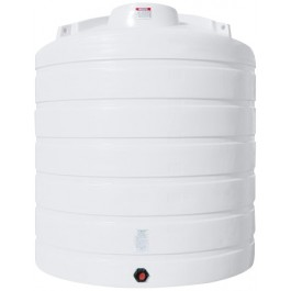 3100 Gallon White Vertical Storage Tank