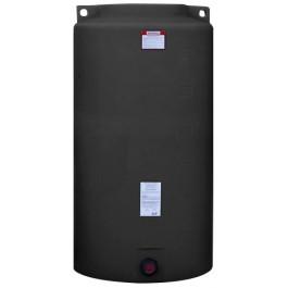 340 Gallon Black Vertical Storage Tank