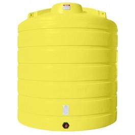 4000 Gallon Yellow Vertical Storage Tank
