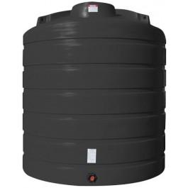 5050 Gallon Black Vertical Storage Tank