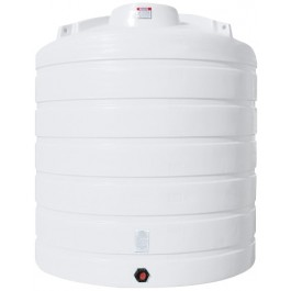 5050 Gallon White Vertical Storage Tank