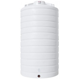 5200 Gallon White Vertical Storage Tank