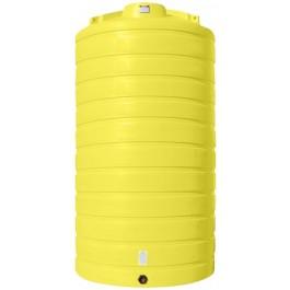 5200 Gallon Yellow Vertical Storage Tank