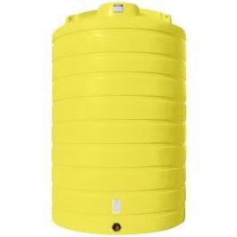 6000 Gallon Yellow Vertical Storage Tank