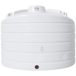 6011 Gallon White Vertical Storage Tank