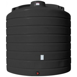 6250 Gallon Black Vertical Storage Tank