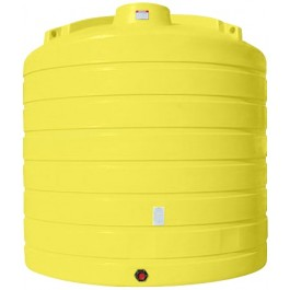 6250 Gallon Yellow Vertical Storage Tank