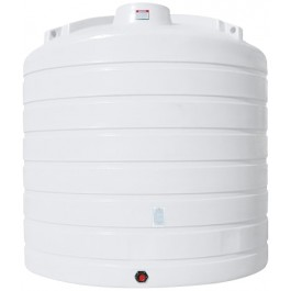 8000 Gallon White Vertical Storage Tank